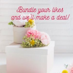 Other - Bundle your likes for a private offer🌸
